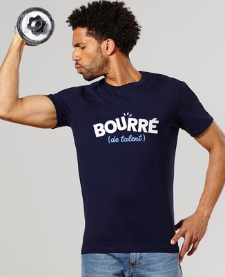 T-Shirt homme Bourré de talent