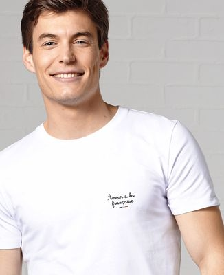 T-Shirt homme Amour à la française (brodé)