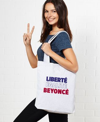 Totebag Liberté Égalité Beyoncé