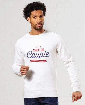 Sweatshirt homme Chef de couple