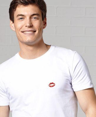 T-Shirt homme Bouche rouge (brodé)