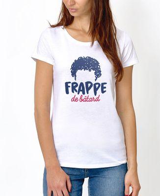 T-Shirt femme Frappe de bâtard