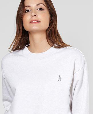 Sweatshirt femme Stay Alive (brodé)