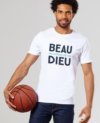 T-Shirt homme Beau comme un Dieu