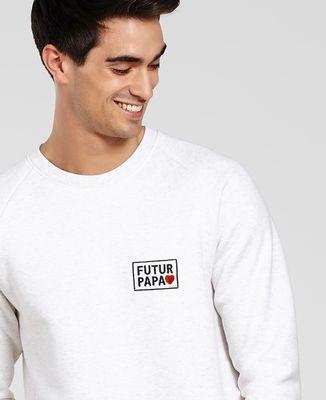 Sweatshirt homme Futur Papa (brodé)