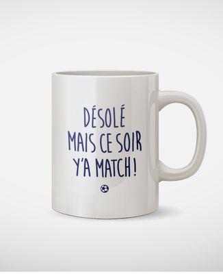 Mug Y'a match