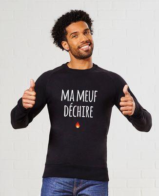 Sweatshirt homme Ma Meuf Déchire