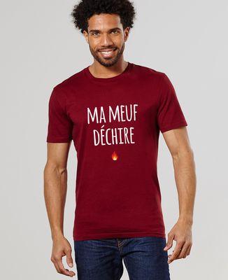 T-Shirt homme Ma Meuf Déchire