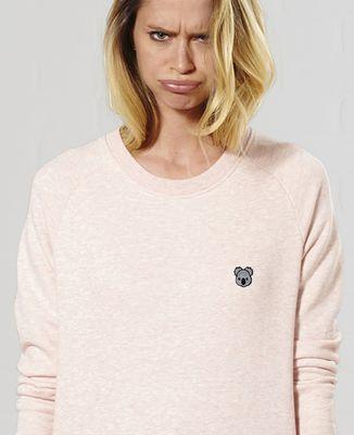 Sweatshirt femme Koala (brodé)