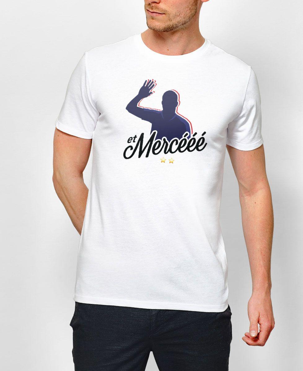 T-Shirt homme Et mercééé