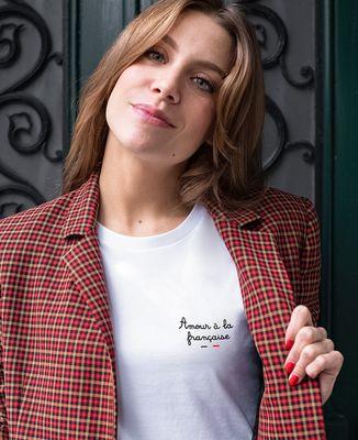 T-Shirt femme Amour à la française (brodé)