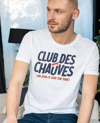 T-Shirt homme Club des chauves