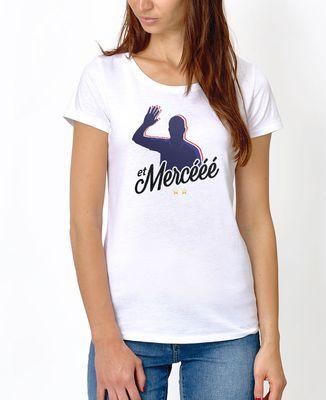 T-Shirt femme Et mercééé
