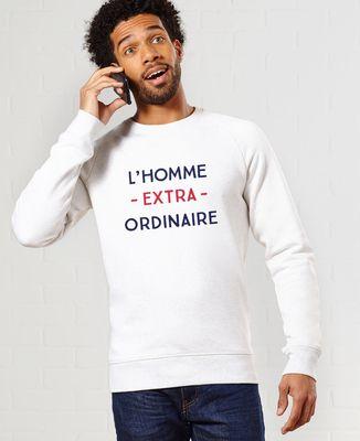 Sweatshirt homme L'homme extraordinaire