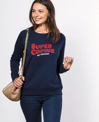 Sweatshirt femme Super copine