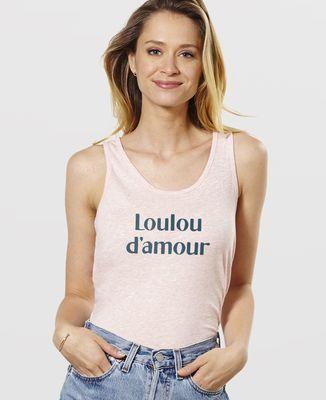 Débardeur femme Loulou d'amour II