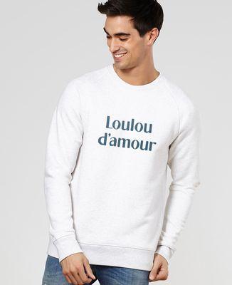 Sweatshirt homme Loulou d'amour II