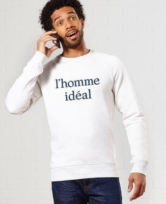 Sweatshirt homme L'homme idéal II
