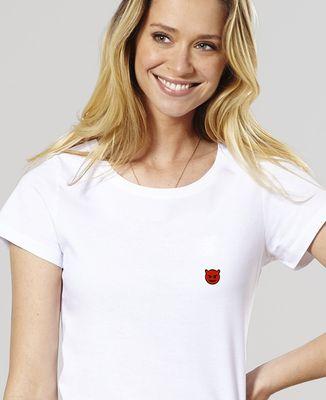 T-Shirt femme Démon (brodé)