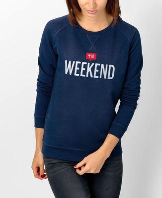 Sweatshirt femme Weekend