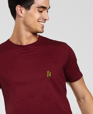 T-Shirt homme Lucky Cat (brodé)