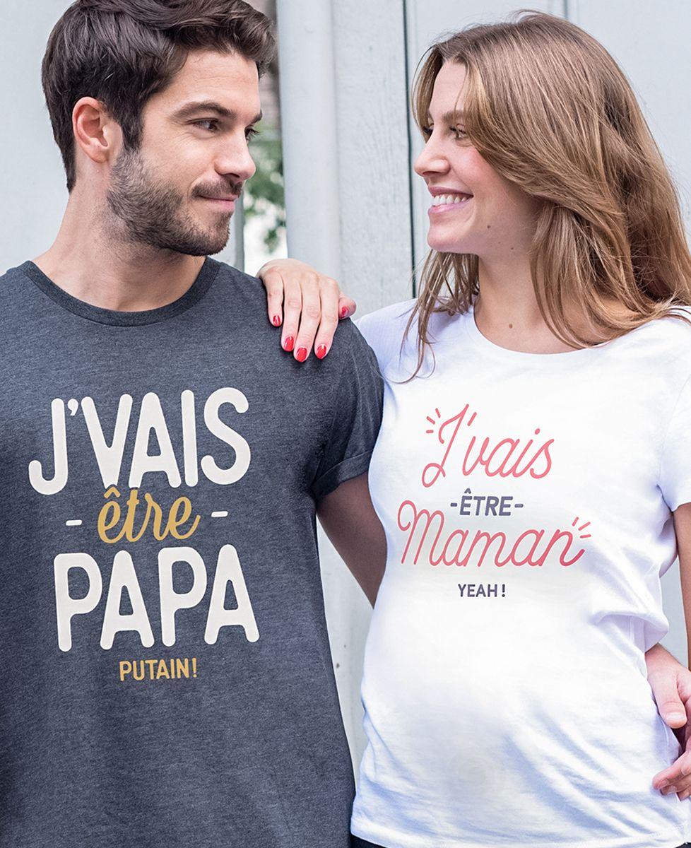 T-Shirt femme J'vais être Maman
