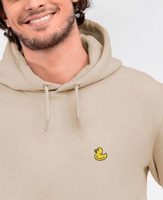 Hoodie homme Canard jaune (brodé)
