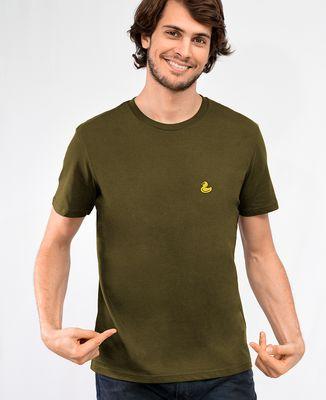 T-Shirt homme Canard jaune (brodé)