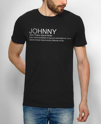 T-Shirt homme Johnny