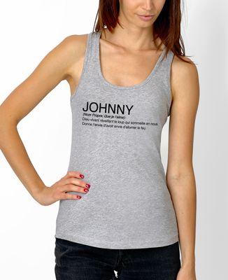 Débardeur femme Johnny