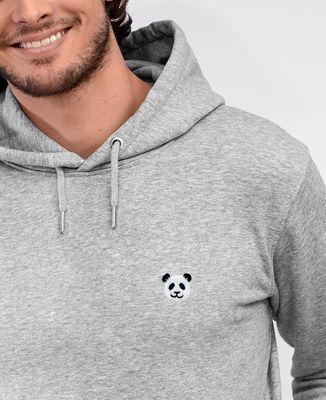 Hoodie homme Panda (brodé)