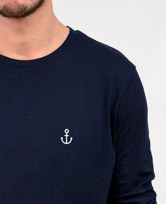 T-Shirt homme manches longues Petite Ancre (brodé)