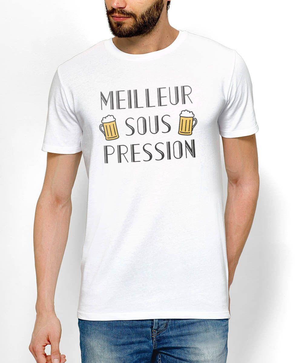 T-Shirt homme Meilleur sous pression