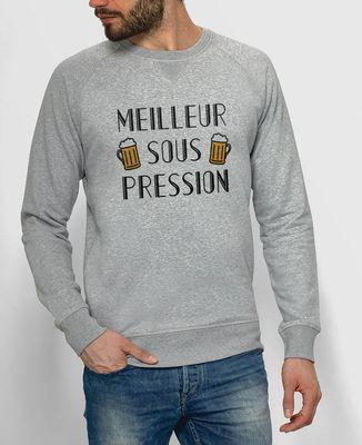 Sweatshirt homme Meilleur sous pression