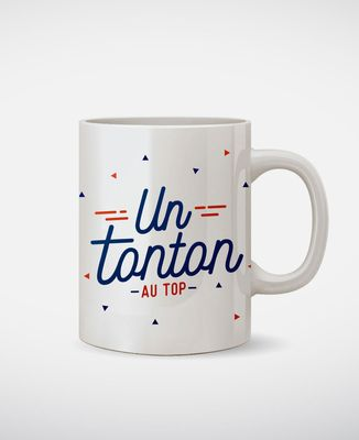 Mug Tonton au top