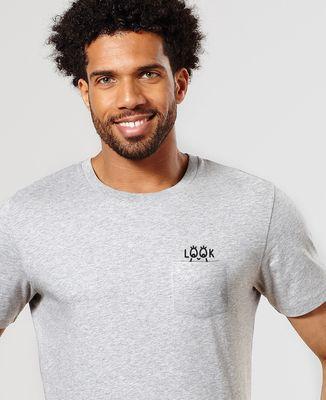 T-Shirt à Poche Jeu du rond look