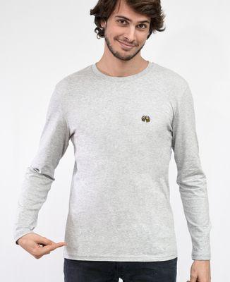 T-Shirt homme manches longues Pintes de bière (brodé)