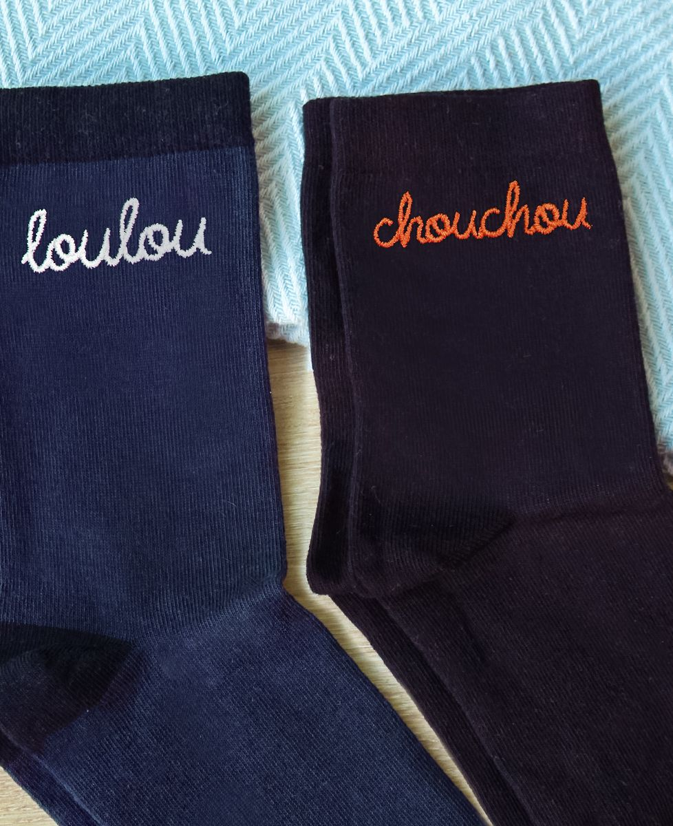 Coffret Chouchou / Loulou chaussettes