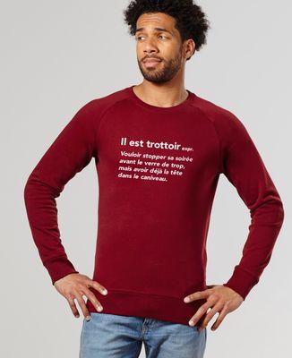 Sweatshirt homme Il est trottoir
