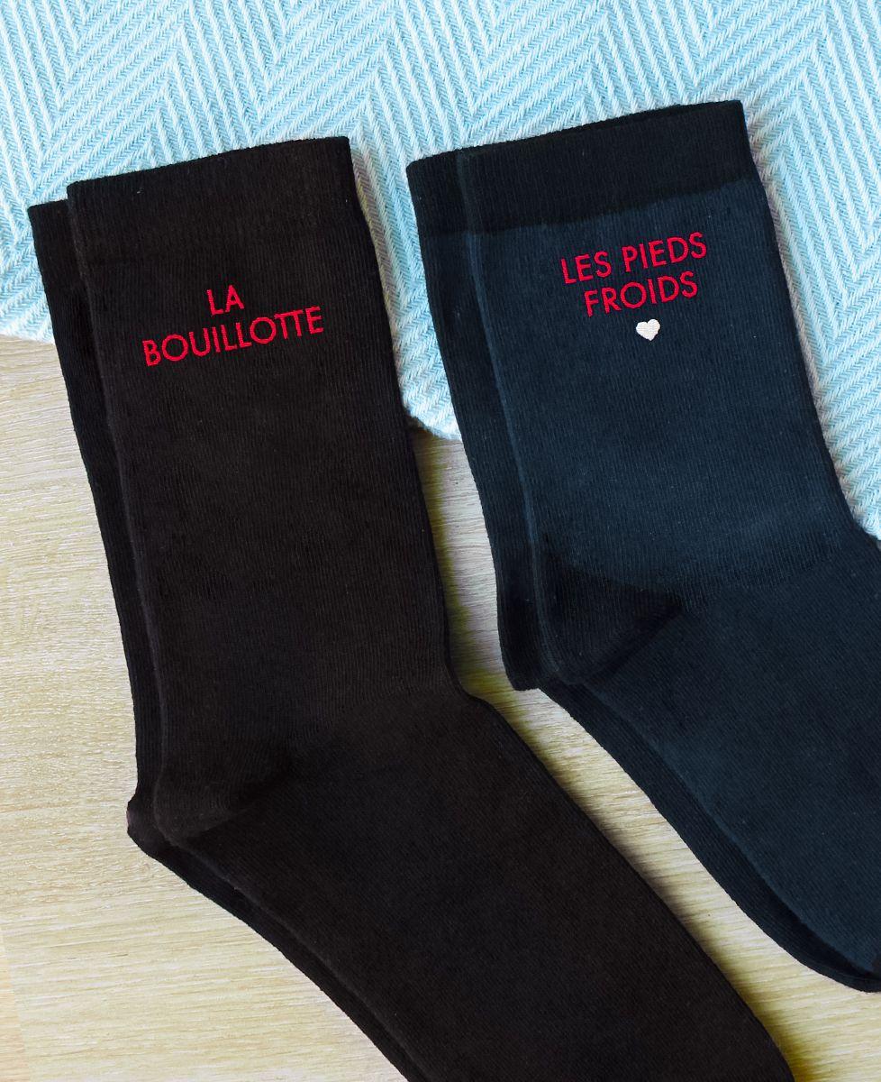 Chaussettes homme La bouillotte / Les pieds froids