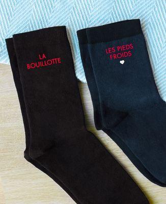 Chaussettes femme La bouillotte / Les pieds froids
