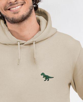 Hoodie homme T-Rex (brodé)