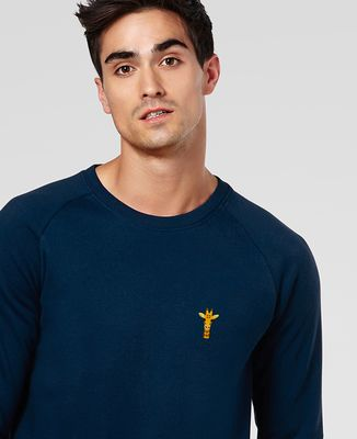 Sweatshirt homme Girafe (brodé)
