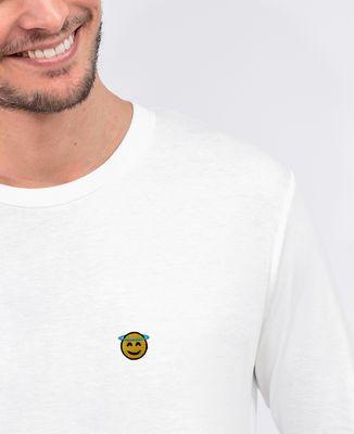 T-Shirt homme manches longues Ange (brodé)