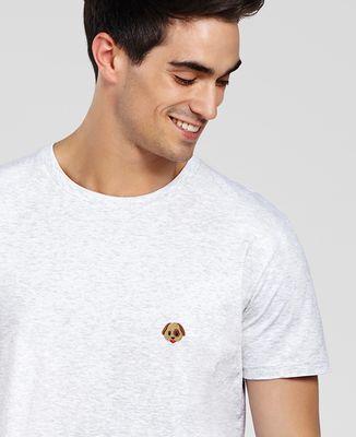 T-Shirt homme Chien (brodé)