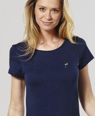 T-Shirt femme Cocktail (brodé)