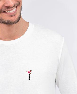 T-Shirt homme manches longues Porté Dirty Dancing (brodé)