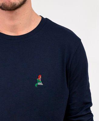 T-Shirt homme manches longues Sirène (brodé)