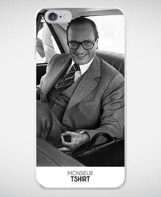 Coque smartphone Jeu du rond Chirac