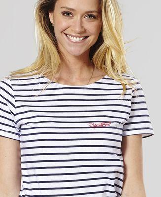 T-Shirt femme Mamiefique (brodé)